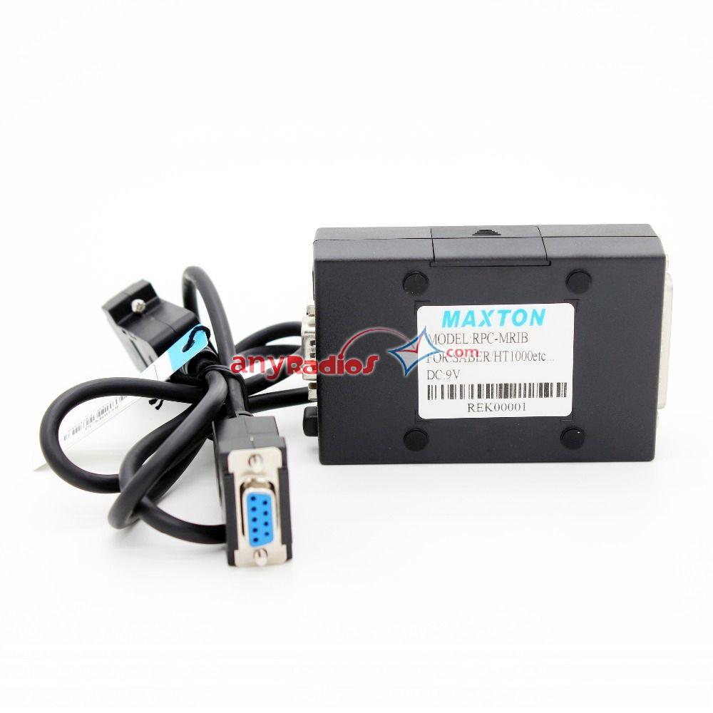 Rpc Mrib Rib Interface Programming Box Kit With Db 9 Pin Cable For Motorola Wiring Diagram Two Way Radio Walkie Talkie Ptt Phone