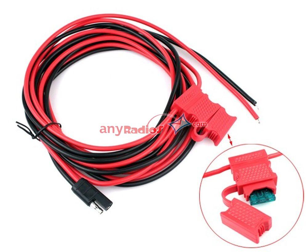 Power Cable HKN4137 For Motorola PM400 CM200 CM300 CDM750 CDM1250 M1225 GM300