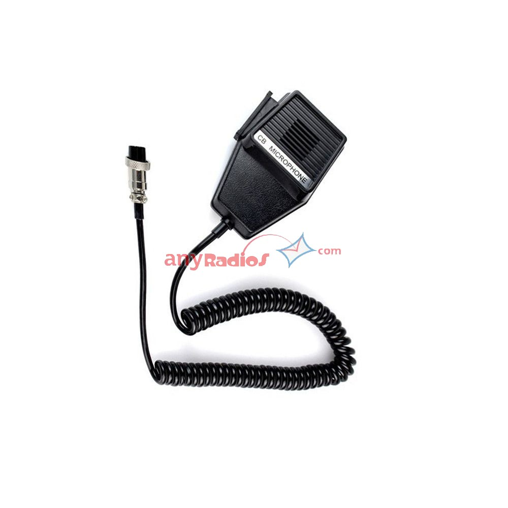 CM4 CB Radio Speaker Mic Microphone 4 Pin for Cobra Uniden