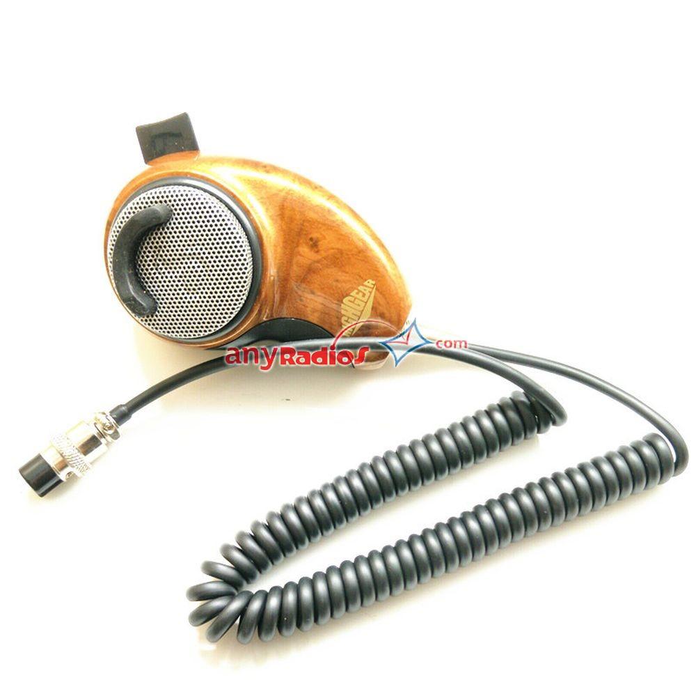 MH-84 Noise Canceling CB Radio Mic for Cobra HighGear Woodgrain