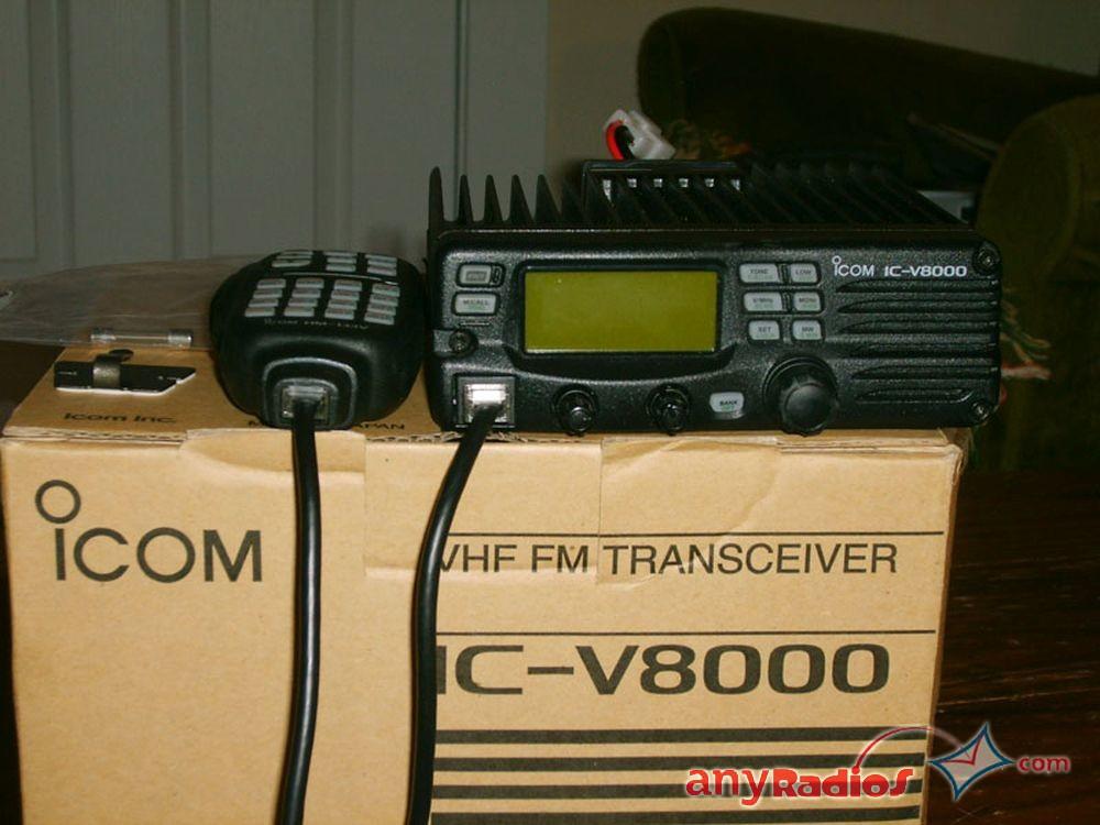 Icom Ic V8000 Mobile Base Radio Vhf 2m Ham Station Two Way