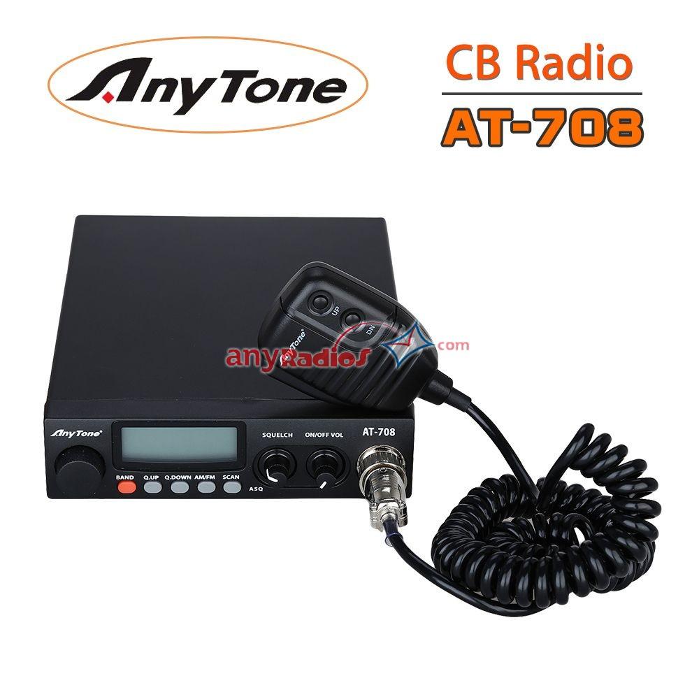 Anytone AT-708 Vehicle CB Mobile Radio