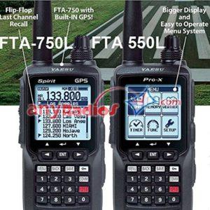 Yaesu FTA750L Handheld VHF Transceiver / GPS
