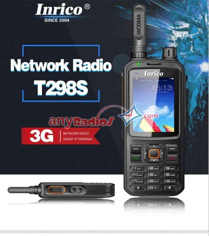 Inrico T298s Uhf Vhf Smart Phone Radio Walkie Talkie Two