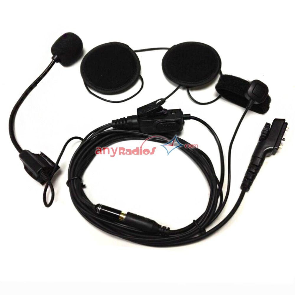 Hytera Helmet Headset Microphone for HYT PD780 Radio