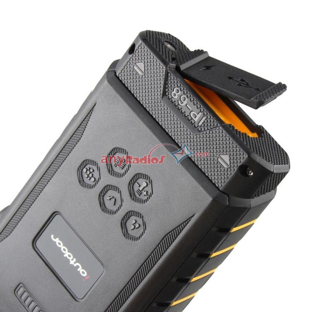 ioutdoor T2 Cell Phone GSM UHF Walkie Talkie IP68 Waterproof Network Radio  Phone