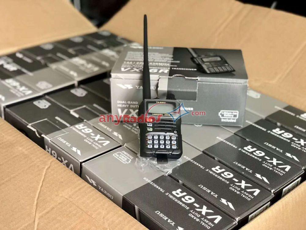 YAESU VX-6R Dual Band Amateur Submersible Walkie Talkie - Walkie Talkie Two Way Radio PTT Phone