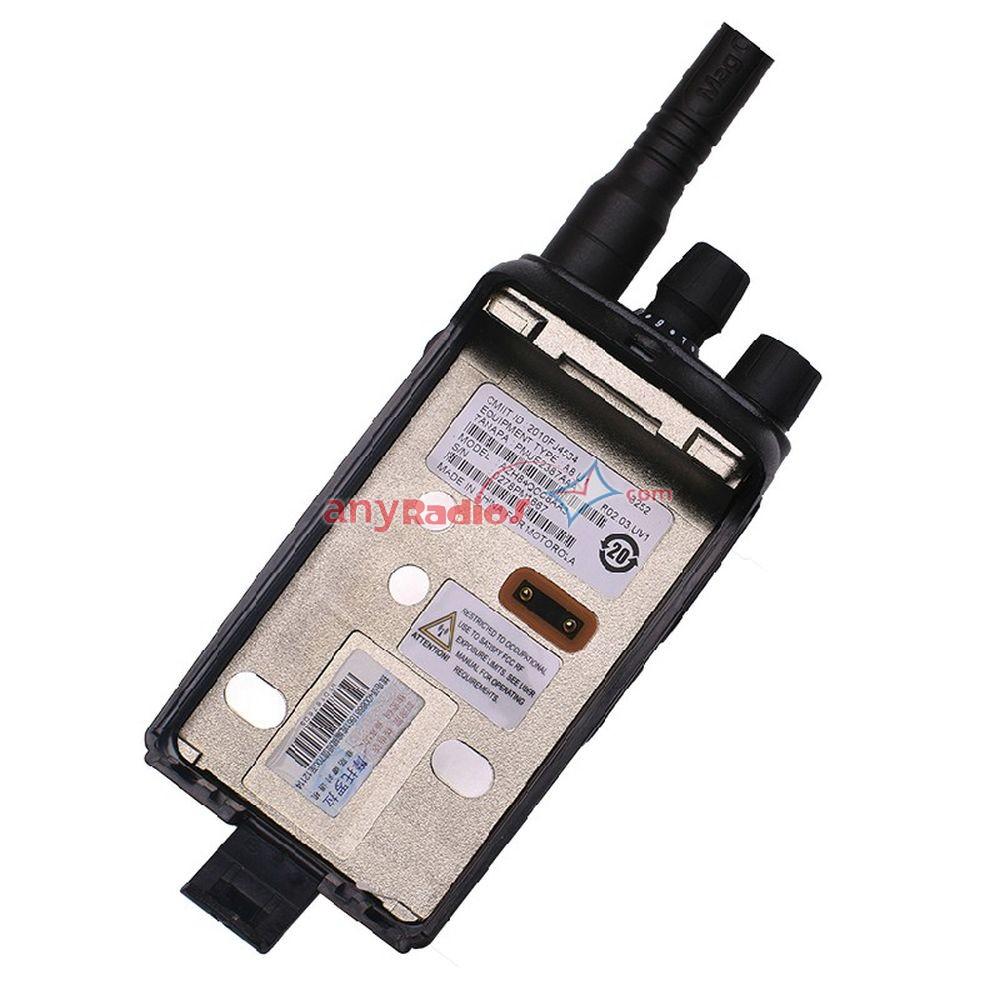 Mag One A8 Motorola UHF VHF Walkie-Talkie Handheld Two way Radio