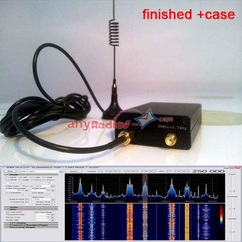 2018 RTL-SDR Full Band HF VHF UHF 100KHz-1 7GHz Ham Radio SDR Receiver