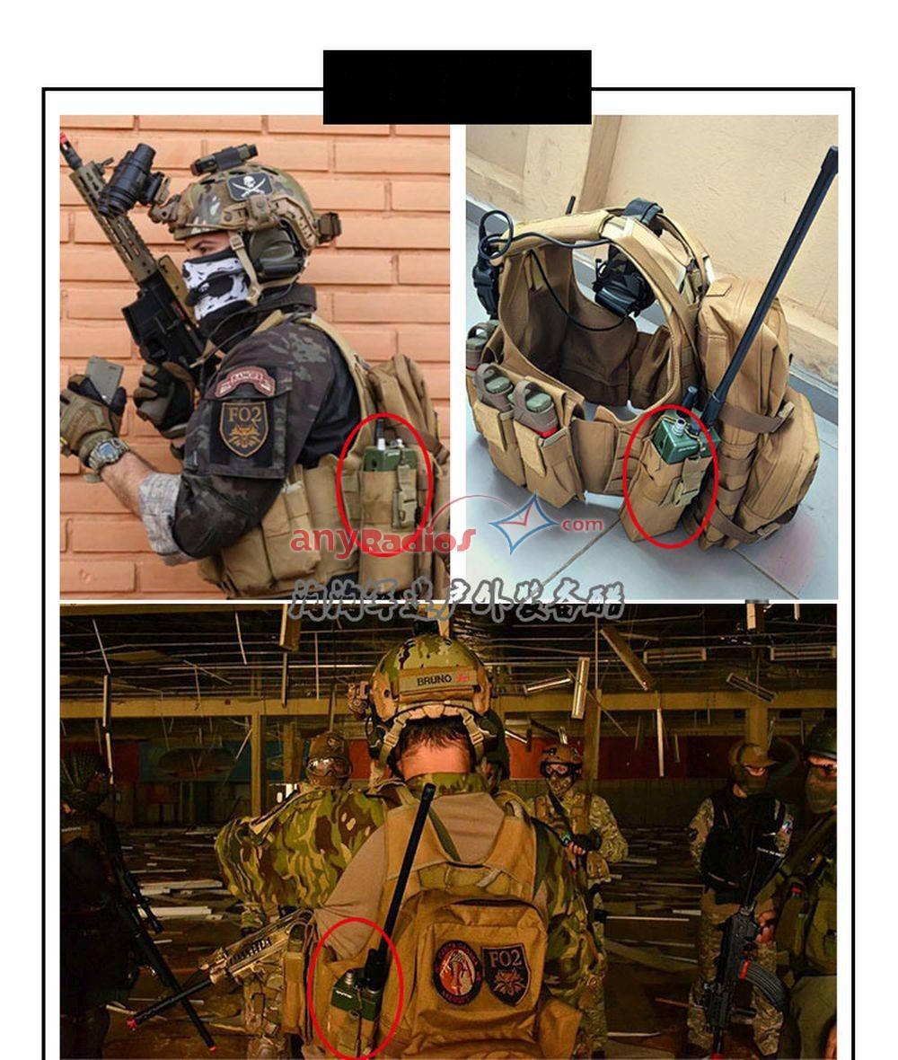 MOLLE Military Radio Station Accessories Bag PRC148 PRC152