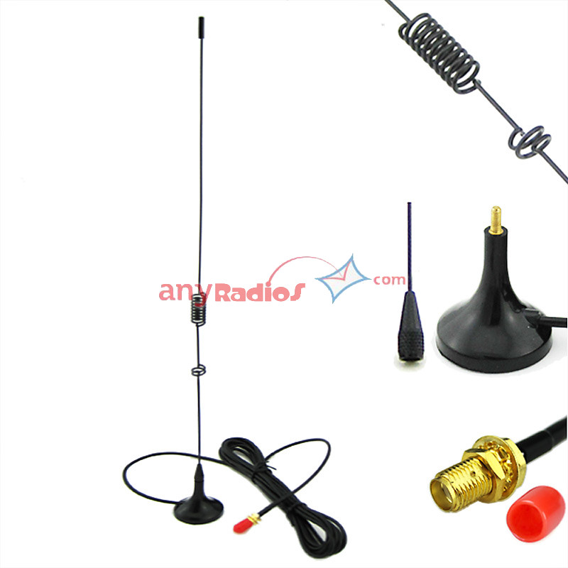 Nagoya UT106 Antenna Magnetic Base SMA-F for HAM Radio Baofeng UV-5R  BF-888S UV-82