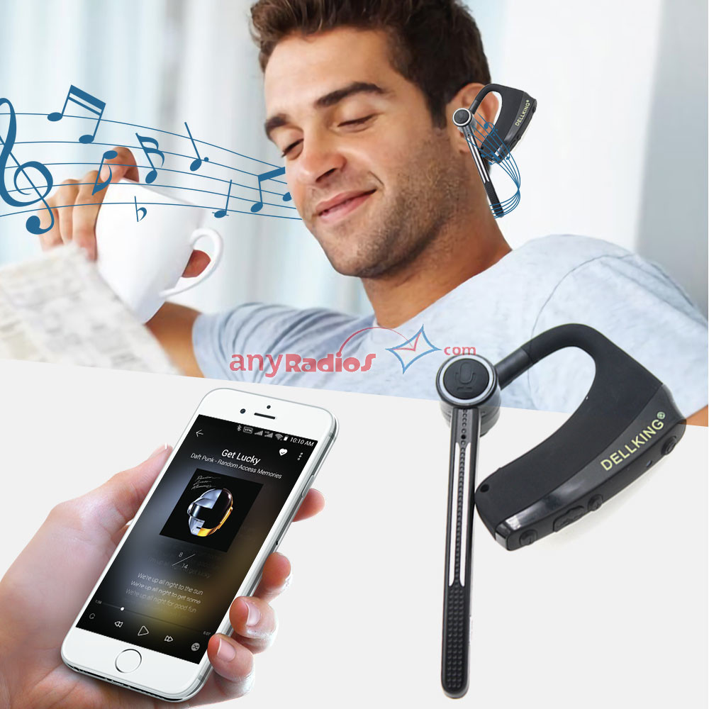 Dual Ptt Wireless Bluetooth Headset Zello Push To Talk Support Ios Android System Walkie Talkie Two Way Radio Ptt Phone